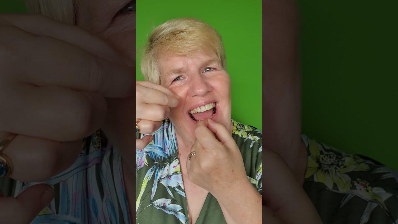 Das Zahnseide – Lachen